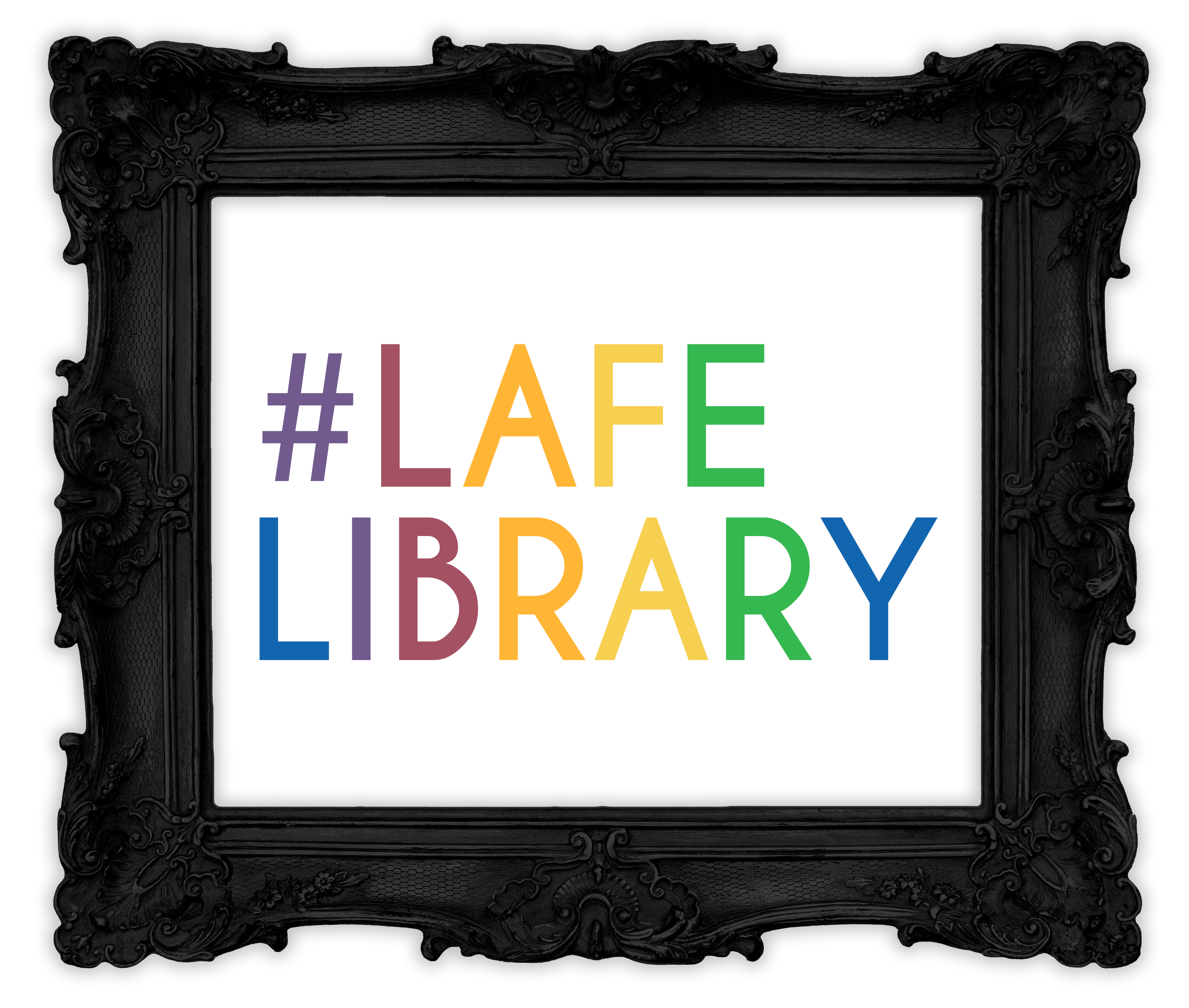 This image links to Hafuboti's #LAFE Library - an alphabetized set of Libraries Are For Everyone signs in many languages.